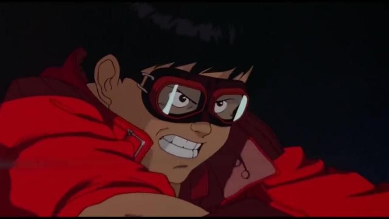 Акира 1988 Akira opening bike scene