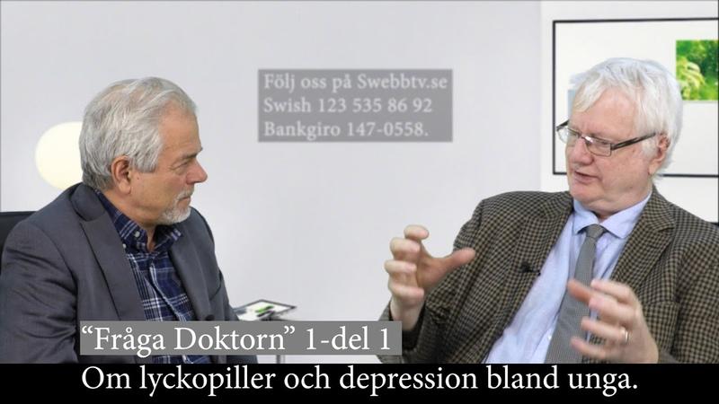 Fråga doktorn avsnitt 1 del 1 - Om lyckopiller och om depression bland unga.