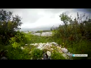 Helmet-cam footage of german foreign fighters in hts defending against an attempted assault by the saa on kabani, a village in n