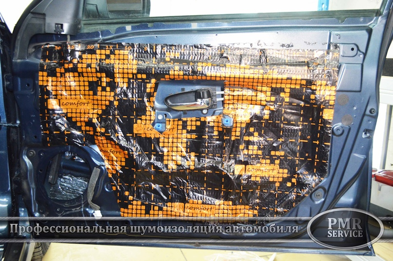 Шумоизоляция Nissan Almera, изображение №9