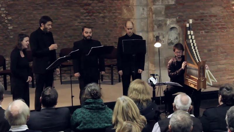 Johannes Ockeghem Missa L'homme armé Kyrie Sidonia Ensemble Live