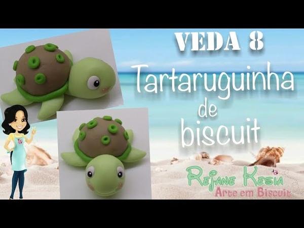 Veda 8 Tartaruguinha de biscuit Rejane kesia