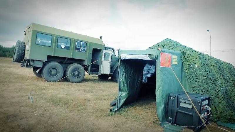 Военные финансисты на маневрах «Восток-2018»