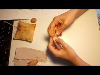 Текстильно-шарнирные куклы руки, ноги, шарниры