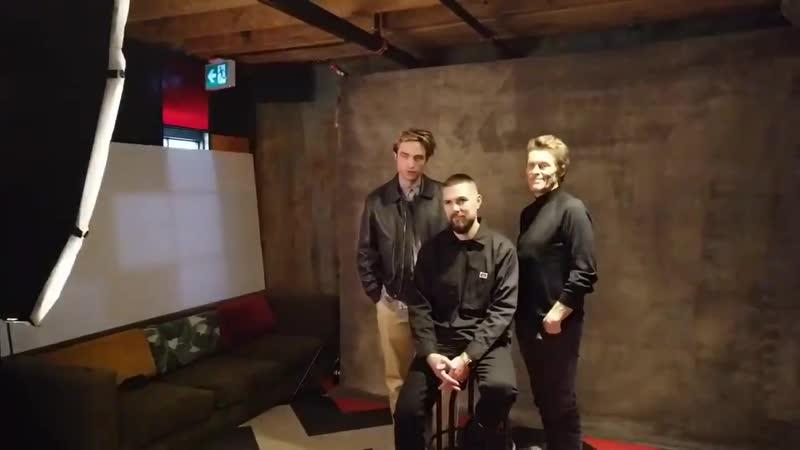 Robert Pattinson LA Times Studio 3