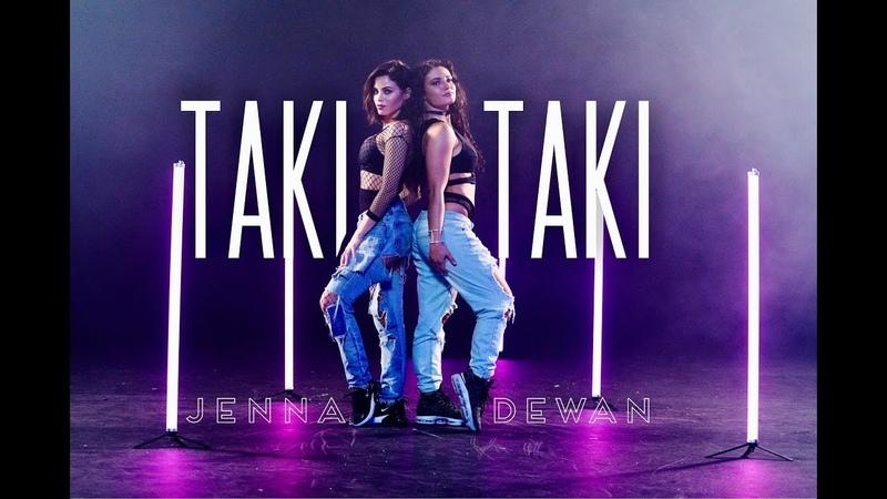 TAKI TAKI DJ SNAKE CARDI B Dance Choreography by Kyle Hanagami Jenna Dewan Jade Chynoweth