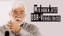 Wir haben jetzt DDR Verhältnisse Hans Joachim Maaz