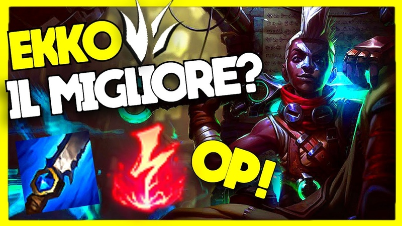 [ITA] COME GIOCARE EKKO JUNGLE IN SEASON 10 - Guida per Ekko Giungla - League of Legends ita