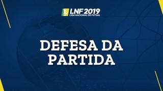 LNF2019 - Defesas das Partidas - 7ª Semana