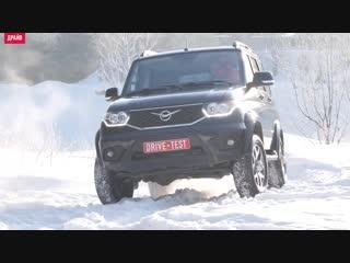 Классика в снегу. крузак и уазик против джипа. wrangler, патриот и lc 70