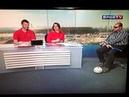 Gafe Sportv Reporter tentando cumprimentar um deficiente visual