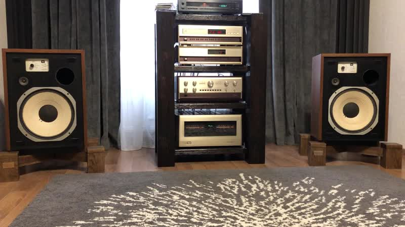 Jbl l55 Accuphase p800 Accuphase DP80L DC81L