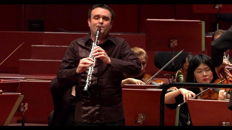 Mozart Klarinettenkonzert ∙ hr-Sinfonieorchester ∙ Jörg Widmann ∙ Hugh Wolff