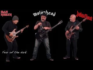 Motorhead vs iron maiden vs judas priest (guitar riffs battle)
