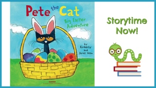 Pete the Cat Big Easter Adventure - By Kimberly James Dean Children's Easter Books Read Aloud