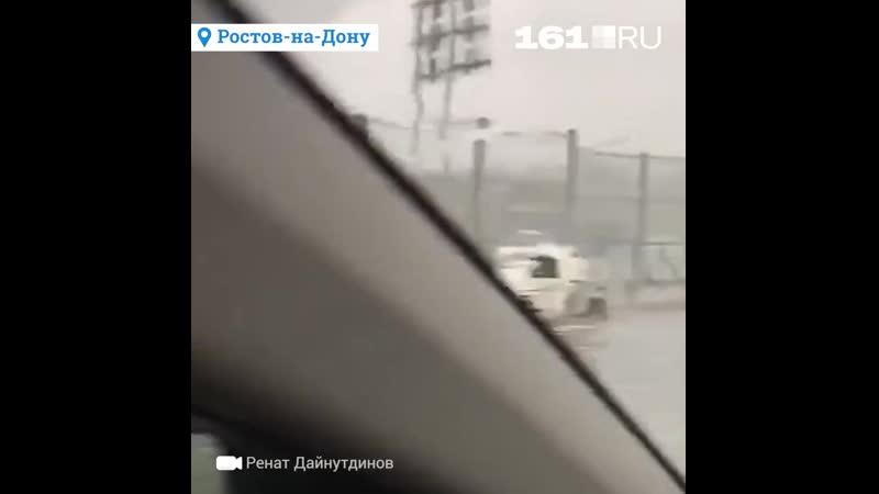 Стихия играет в футбол на «Ростов Арене»