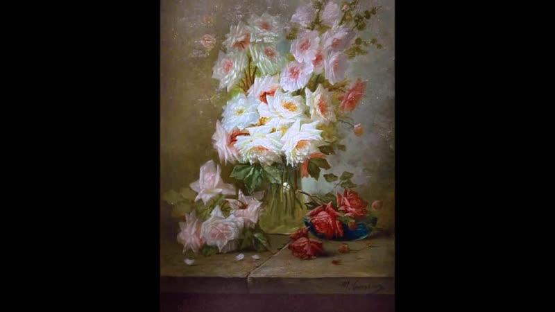 Цветы на картинах художников vol.25