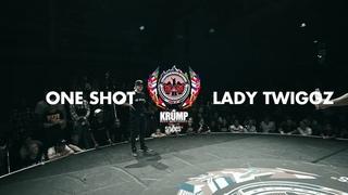 One Shot vs Lady Twiggz   Female Top 18   EBS World Final 2019