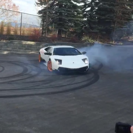 """Daily Driven Exotics ™ on Instagram """"Our friend @ryfips snapping some epic donuts in his Murci SV!! Screaming courtesy of @maxstanden1 😂😂lamborgh..."""
