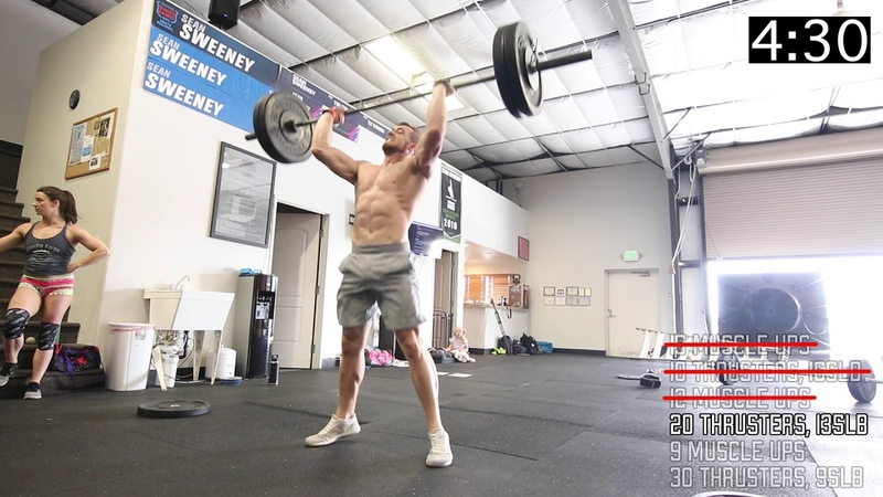 2019 Games Training With The Cowboy: Muscle Ups Thrusters With Sean Sweeney