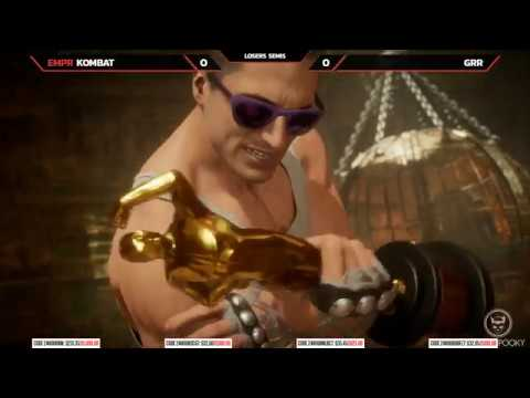 Mortal Kombat 11 Losers Semi Kombat vs Grr NLBC 163