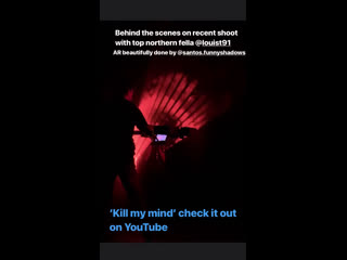 Behind the scenes clip from the kmm music video