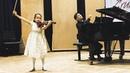 Himari YOSHIMURA 7 yo Japan 1st Grand Prize Grumiaux Competition 2019 Paganini Caprice n° 13
