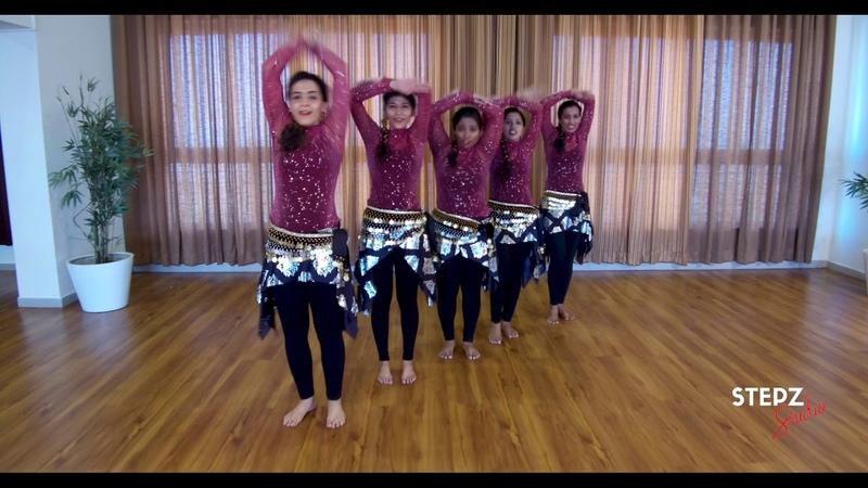 Akhiyan Milau Kabhi Akhiyan Churau Raja Aziza Team Stepz Belly Whack Dance DanceAtStepz