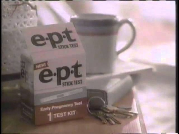 Nancy Travis 1987 EPT Home Pregnancy Test Commercial