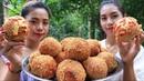 Cooking crispy taro with egg recipe - Natural life TV