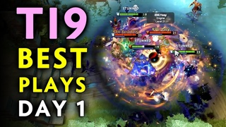 The International 2019 TOP-10 BEST PLAYS  Closed Qualifiers Day 1