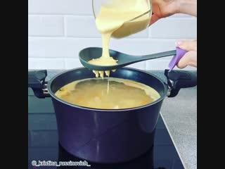 Суп с клёцками (ингредиенты указаны в описании видео)