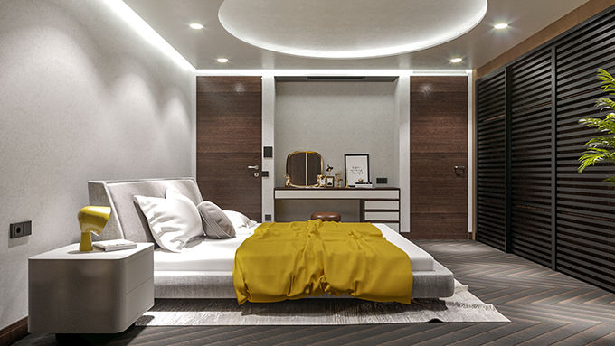 Luxury Duplex in Tbilisi by STIPFOLD