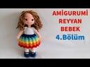 Amigurumi Reyyan Bebek Yapımı - Kol ve Yüz Şekillendirme Yapılışı 4/7 (Gül Hanım)