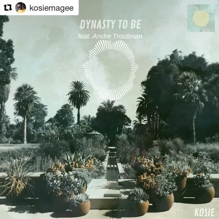 "Nicole Row on Instagram: ""Bae @kosiemagee Kosie just released his single ""Dynasty To Be"". Can be found on Spotify, Apple Music and Bandcamp. So fu..."