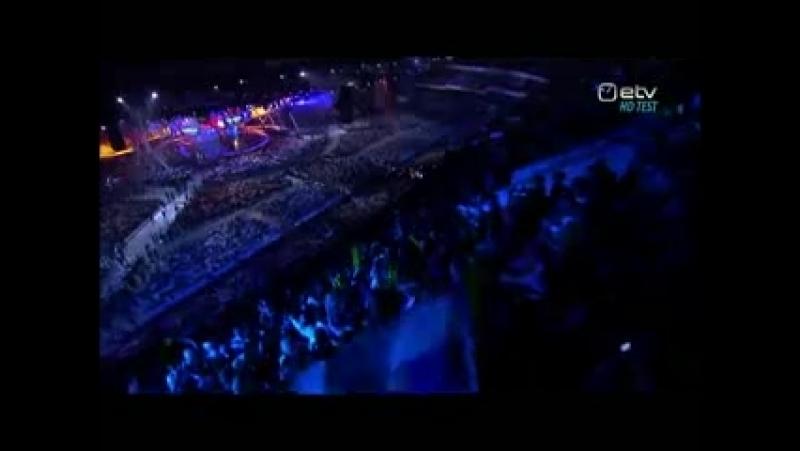 Евровидение2009 Москва Ведущие финала Иван Ургант и Алсу
