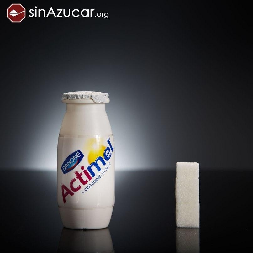 Молочный напиток Actimel.