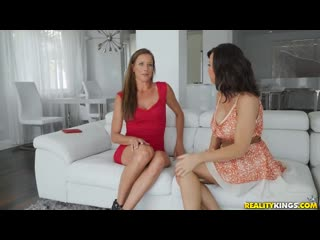 Lezley Zen and Sofie Marie - Dungeons And MILFs [All Sex, Hardcore, Blowjob, Threesome]