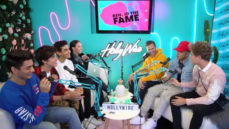 In Real Life Discusses Dating Fans and The Celebrities In Their DMs ¦ Hollywire Behind The Fame