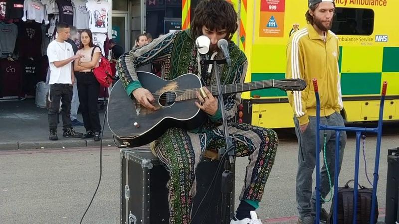 Cam Cole Using Joyo busking Amp