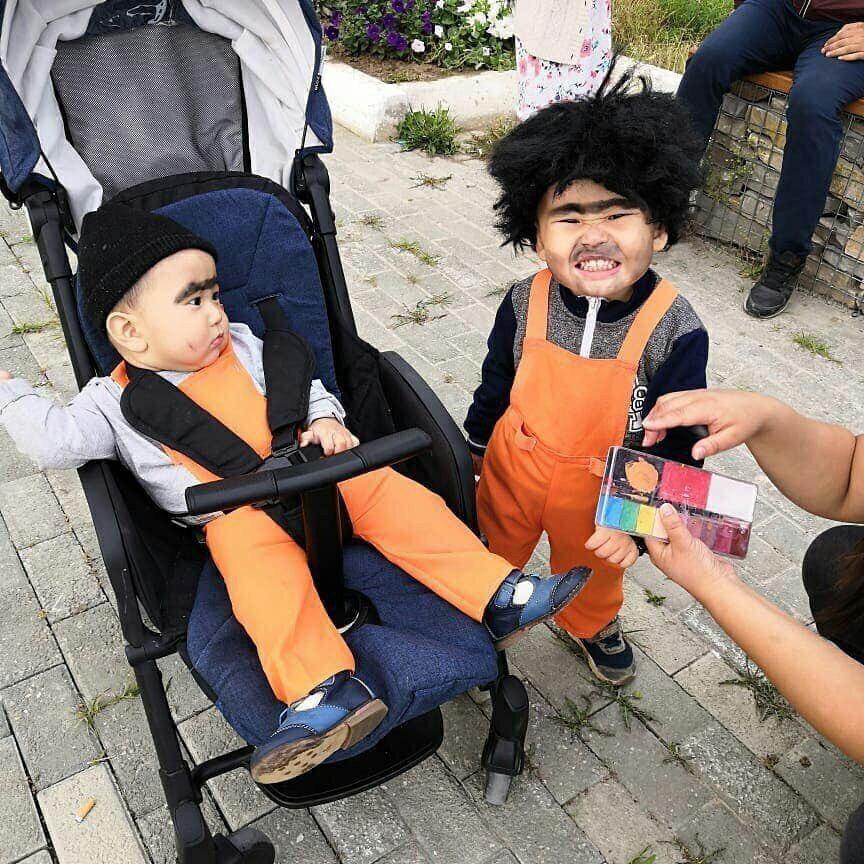 Детский день костюмов ко дню Строителя в Якутии