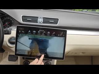 Универсальная 2 Din автомагнитола c огромным экраном