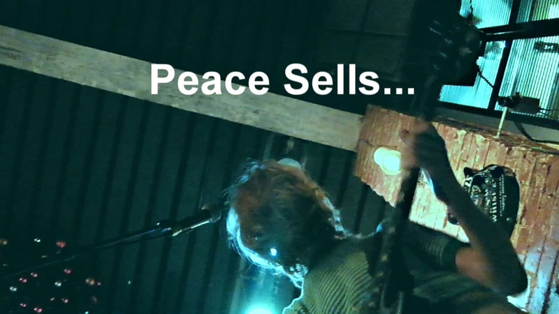 💰PEASE SELLS. Megadeth. Cover muse bar