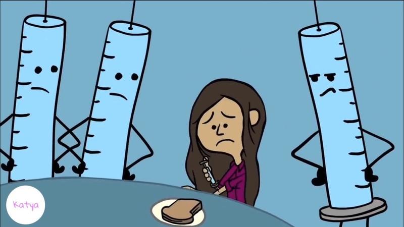 Жизнь с сахарным диабетом || Русская озвучка
