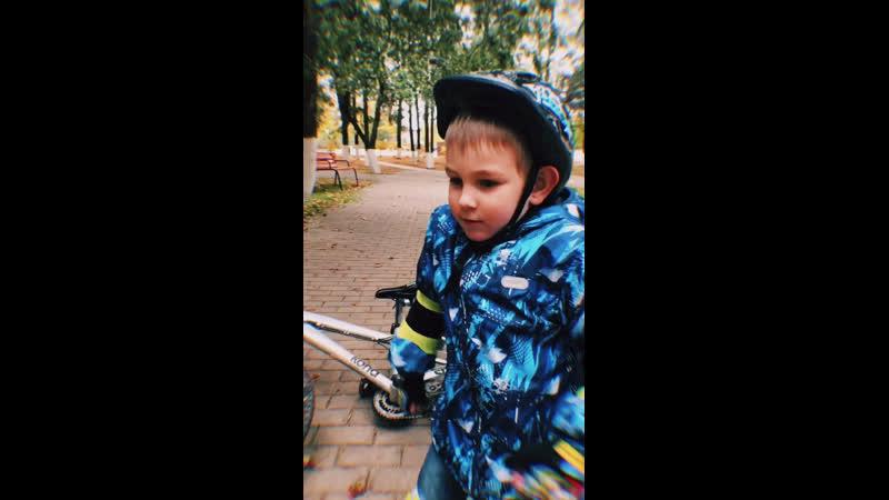 Володя и велоспорт