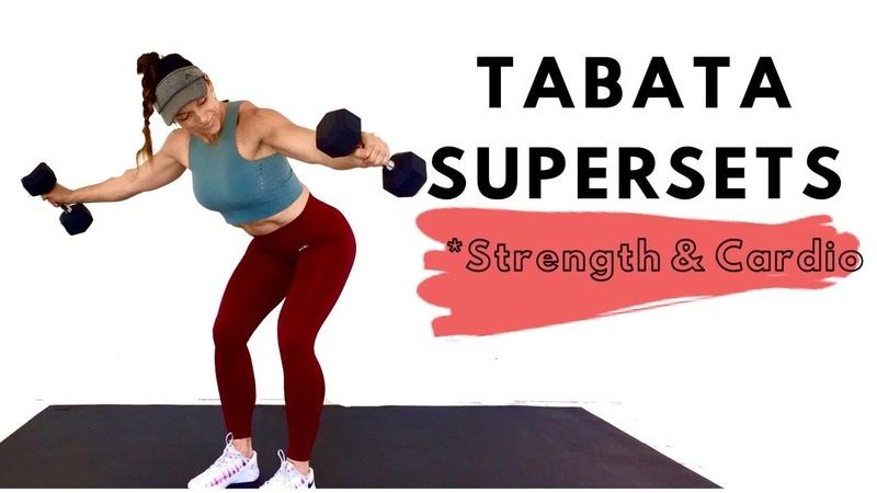 Penny Barnshow Total Body Tabata Strength Cardio Supersets Интенсивная табата тренировка кардио и силовые упражнения