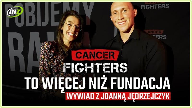 Joanna Jędrzejczyk Cancer Fighters to więcej niż Fundacja | Gala Boxing Challenge Stadion Wrocław