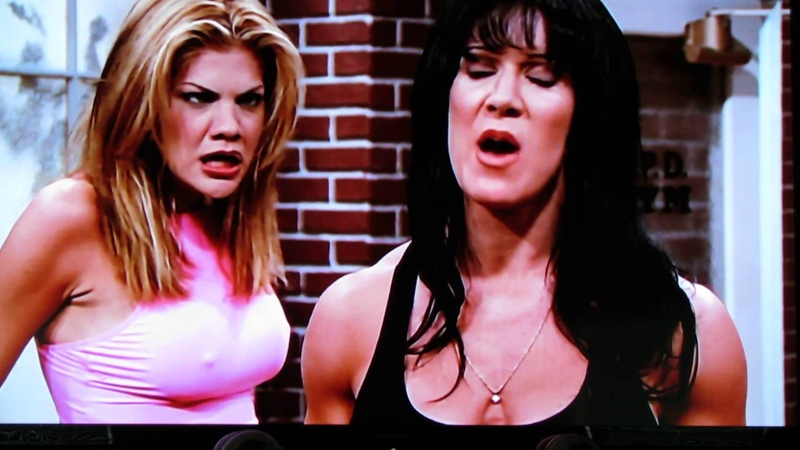 Chyna on 3rd Rock from the Sun Joanie Laurer I do not own anything