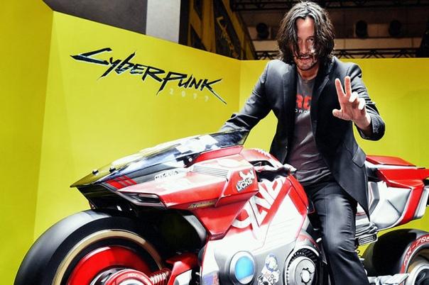 Актер Киану Ривз сыграл одного из персонажей в игре Cyberpun 2077 и объявил дату ее выхода на выставке E3 в Лос-Анджелесе Этот парень круто смотрится в любой