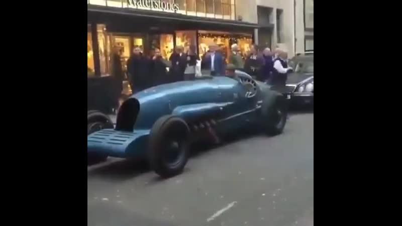 Автомобиль Napier-Campbell Bluebird II